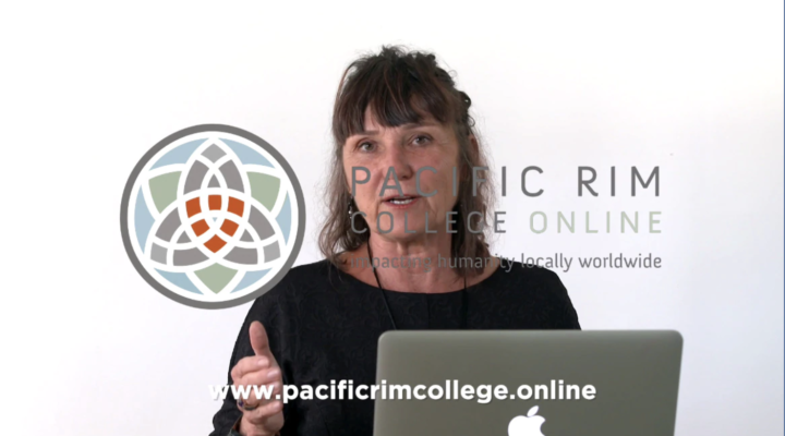 Dr. Martha Lucas at Pacific Rim